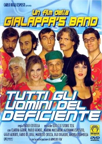 Poster of Tutti gli uomini del deficiente