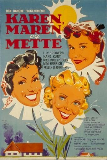 Poster of Karen, Maren og Mette