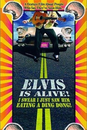 Poster of Elvis Is Alive! I Swear I Saw Him Eating Ding Dongs Outside the Piggly Wiggly's