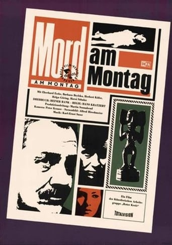 Poster of Mord am Montag