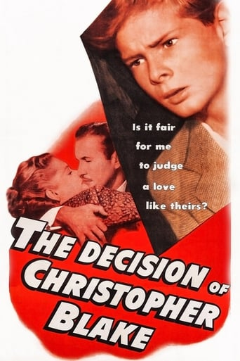 Poster of The Decision of Christopher Blake