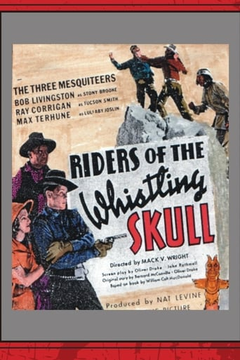Poster of Riders of the Whistling Skull