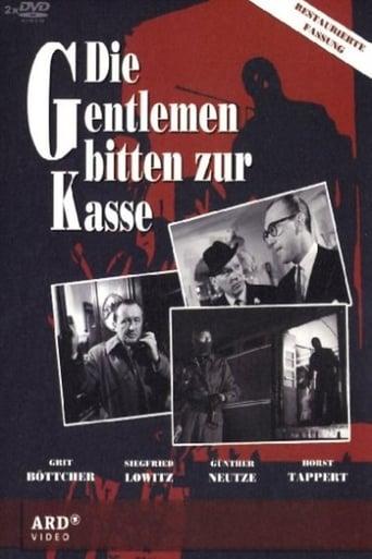 Poster of Die Gentlemen baten zur Kasse