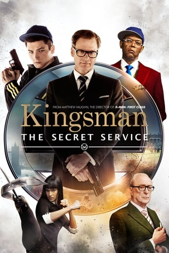 Filmplakat von Kingsman: The Secret Service