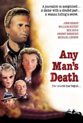 Any Man's Death Poster