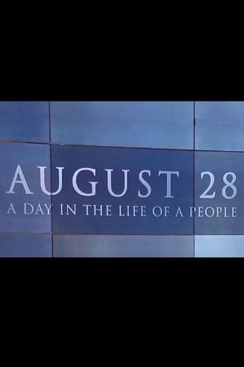 August 28: A Day in the Life of a People poster