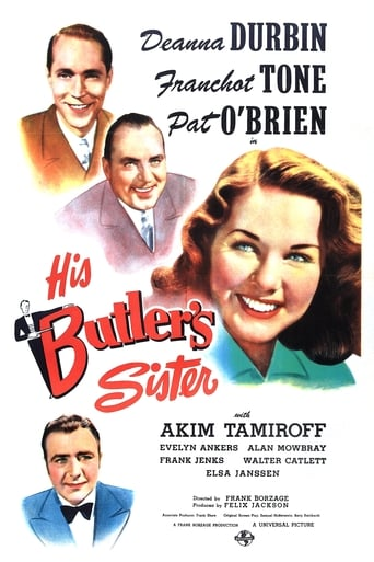 Poster of His Butler's Sister
