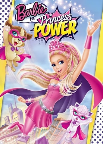 Poster of Barbie in Princess Power