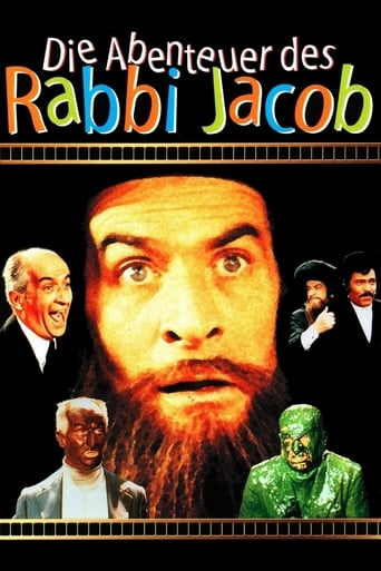 Filmplakat von Die Abenteuer des Rabbi Jacob