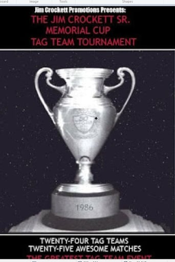 Poster of The First Annual NWA Jim Crockett Sr. Memorial Cup Tag Team Tournament