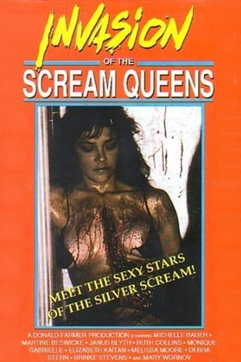 Poster of Invasion of the Scream Queens