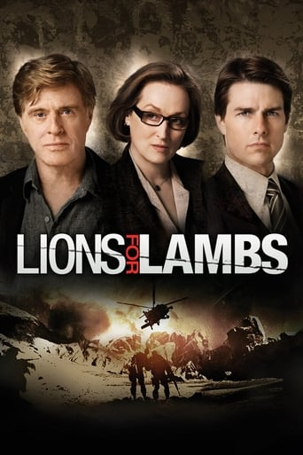 Poster of Lions for Lambs