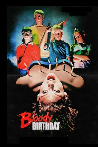 Poster of Bloody Birthday