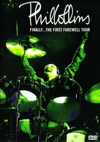 Poster of Phil Collins: Finally... The First Farewell Tour