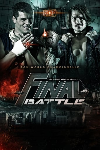 Poster of ROH Final Battle 2017