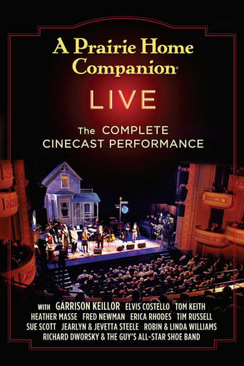 Poster of A Prairie Home Companion Live in HD!