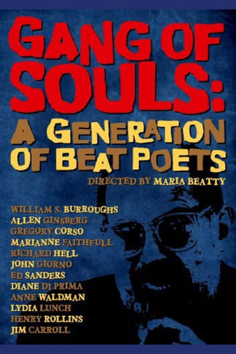 Poster of Gang of Souls: A Generation of Beat Poets