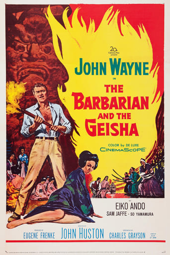 Poster of The Barbarian and the Geisha