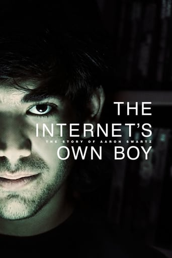 Poster of The Internet's Own Boy: The Story of Aaron Swartz