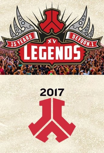 Poster of DefQon.1 Weekend Festival Legends: 15 Years of Hardstyle