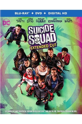 Poster of Suicide Squad Extended Cut