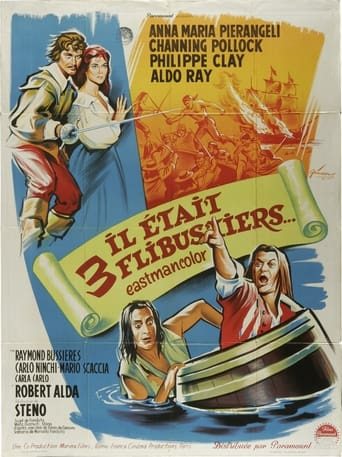 Poster of Musketeers of the Sea