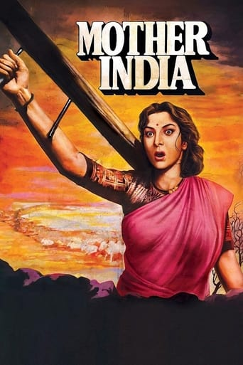 Poster of Mother India