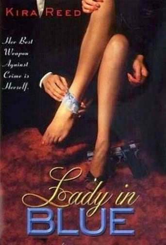 Poster of Lady in Blue