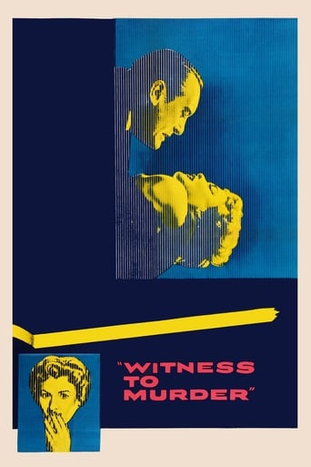 Poster of Witness to Murder