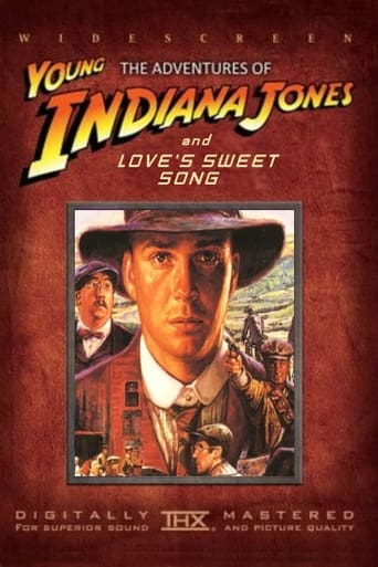 Poster of The Adventures of Young Indiana Jones: Love's Sweet Song