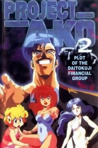 Poster of Project A-Ko 2: Plot of the Daitokuji Financial Group