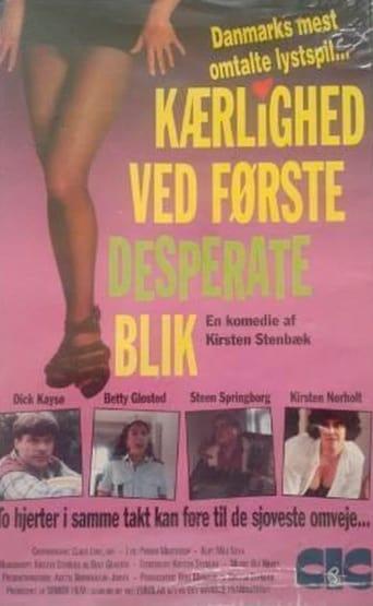 Poster of Kærlighed ved første desperate blik