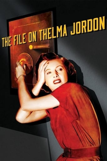 Poster of The File on Thelma Jordon