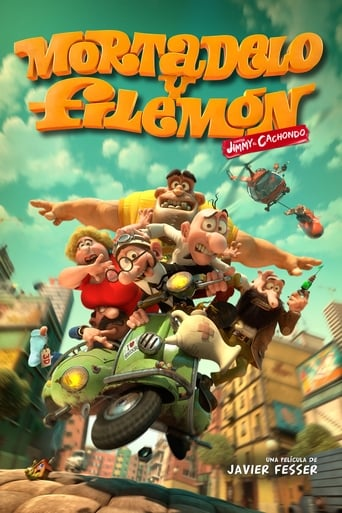 Poster of Mortadelo and Filemon: Mission Implausible