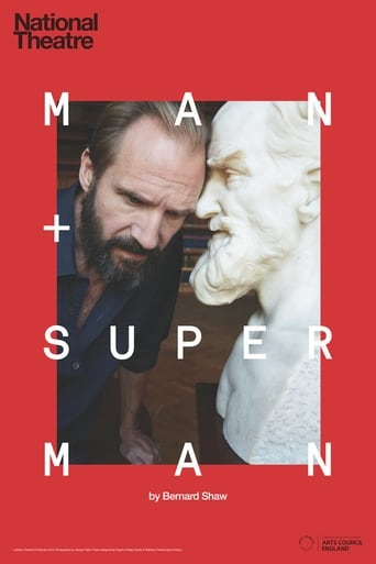 Poster of National Theatre Live: Man and Superman