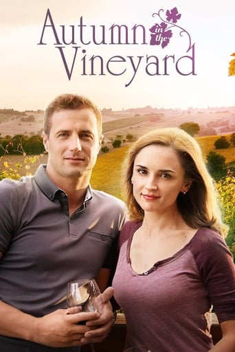 Poster of Autumn in the Vineyard