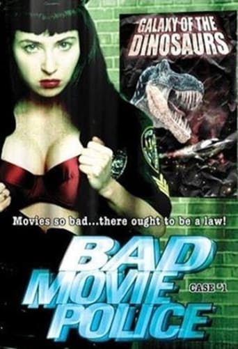 Poster of Bad Movie Police: Case #1: Galaxy Of The Dinosaurs