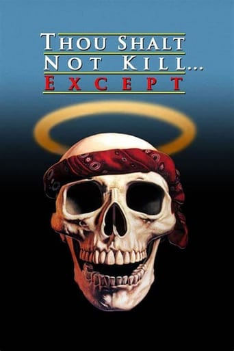Poster of Thou Shalt Not Kill... Except