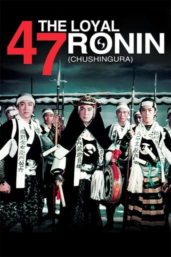 Poster of The Loyal 47 Ronin