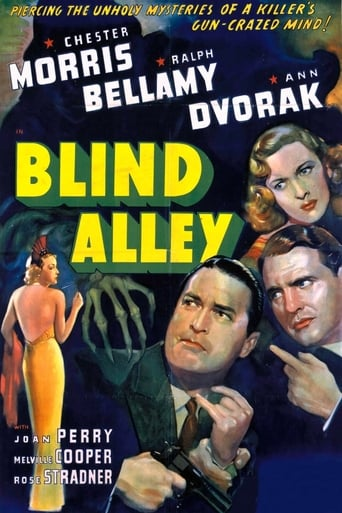 Poster of Blind Alley