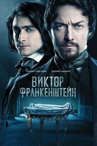 Poster of Виктор Франкенштейн