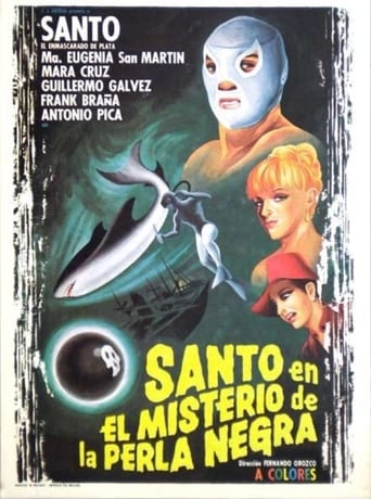 Poster of Santo in the Mystery of the Black Pearl