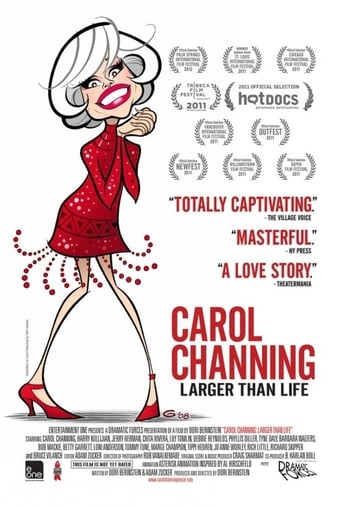 Poster of Carol Channing: Larger Than Life