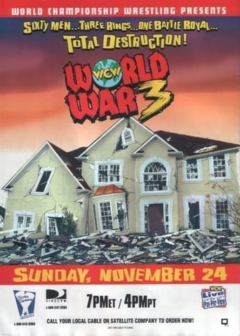 Poster of WCW World War 3 1996