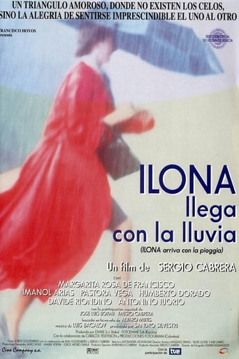 Poster of Ilona Arrives with the Rain
