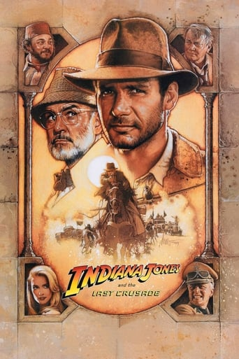 Poster of Indiana Jones and the Last Crusade