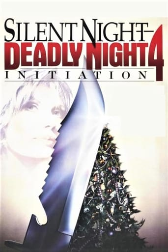 Poster of Silent Night Deadly Night 4: Initiation