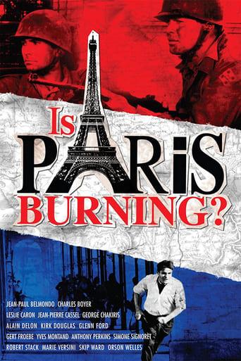 Poster of Paris brûle-t-il?