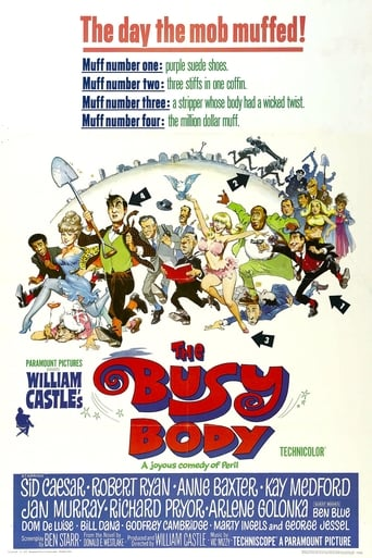 Poster of The Busy Body