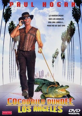 Poster of Cocodrilo Dundee en los Ángeles
